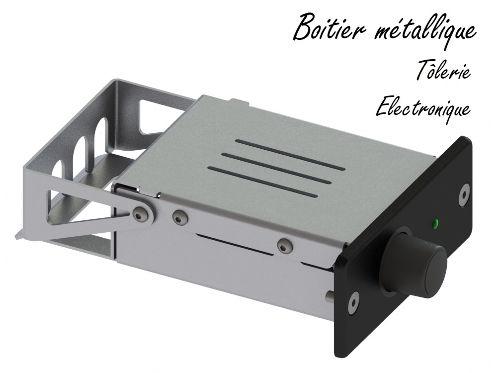 Boitier métallique pour appareil électronique