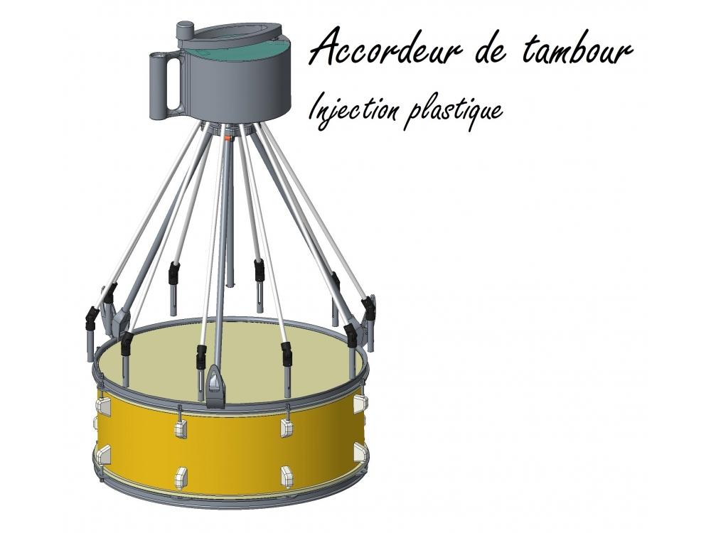 Accordeur de tambour