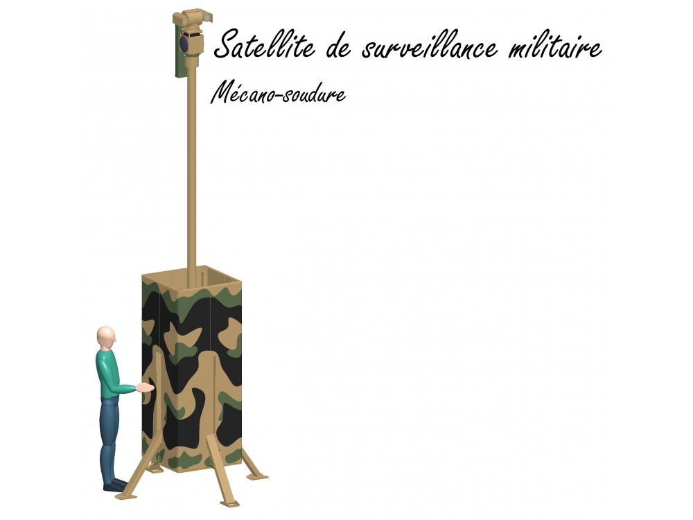 Satellite de surveillance militaire