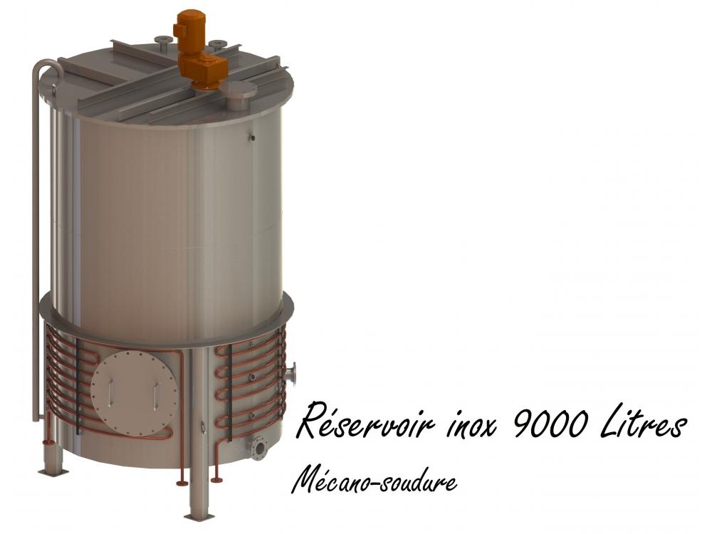 Réservoir inox 9000 Litres