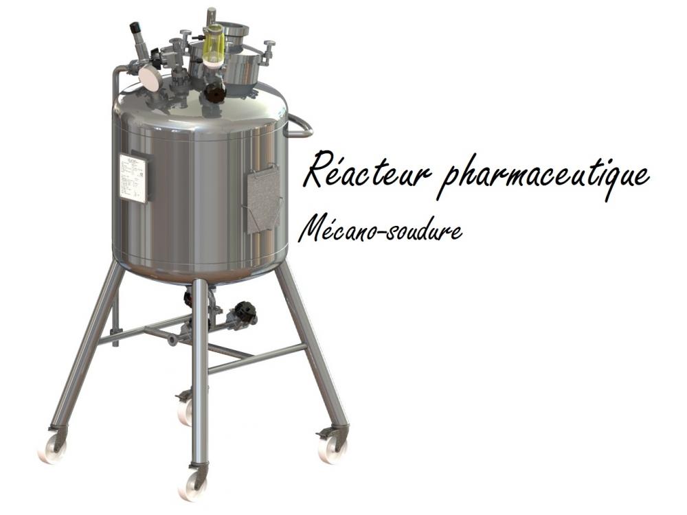Réacteur pharmaceutique