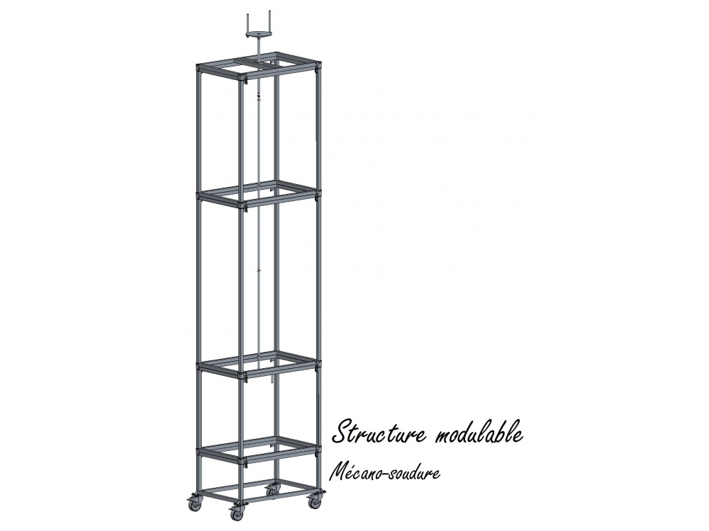 Structure modulable