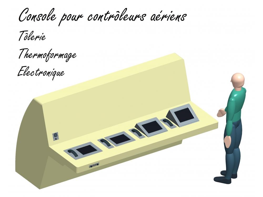 Console pour contrôleurs aériens