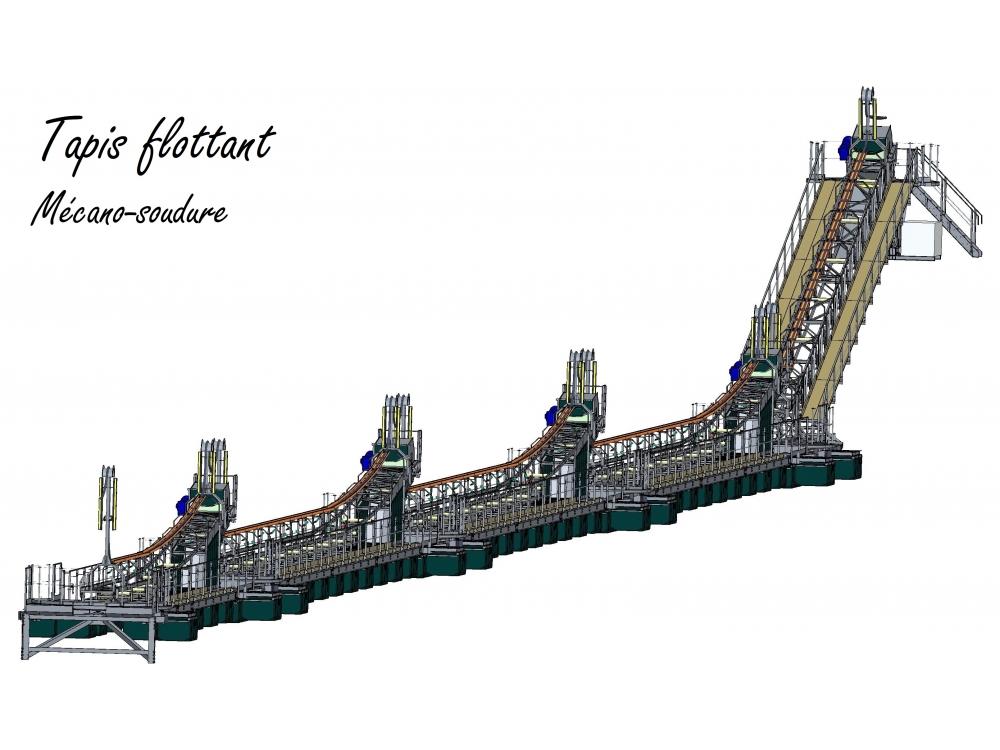 Tapis flottant