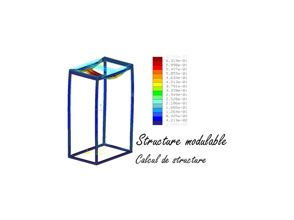 Structure modulable - Calcul