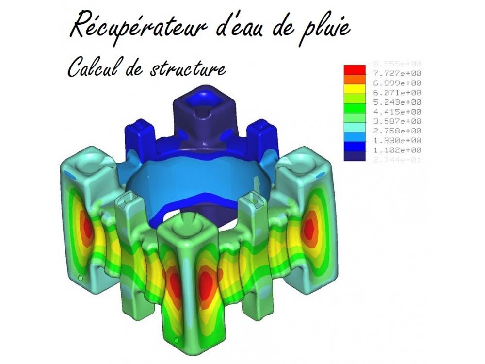 Récupérateur d'eau de pluie - Calcul